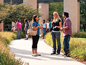 IIT students on campus